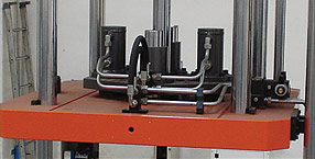 Low-pressure casting machine (direst levels details)