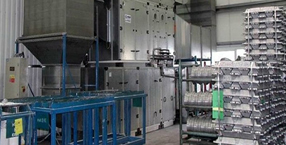 Air conditioning - Ventilation and climate control for industrial halls