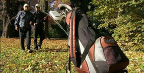 Golf equipment - A remotely controlled golf trolley